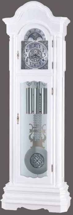 This White Grandfather Clock Is The Same Style As Mine Now I Just Need To