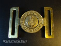 Canadian RHLI Royal Hamilton Light Infantry army brass ceremonial belt buckle in Collectables, Militaria, 1946-1960 | eBay
