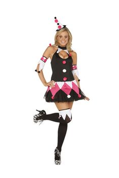 4 Piece Costume includes dress with attached tulle skirt arm bands hat and hose toppers