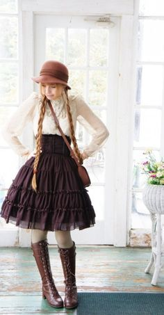 country lolita look