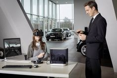Audi-dealers gebruiken Virtual Reality