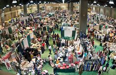 The bazaar at the ICNA-MAS conference. (ICNA)