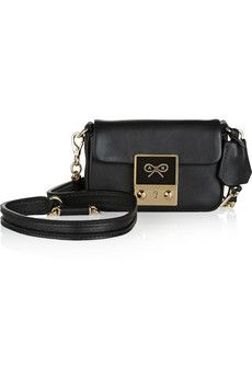 Anya Hindmarch Tiny Tim leather shoulder bag | THE OUTNET