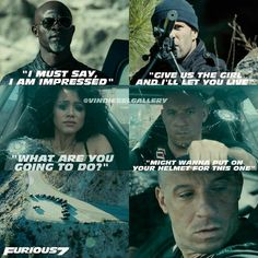Fast And Furious Memes, Fast Furious Series, Movie Fast And Furious, The Furious, Movie Memes, I Movie, Funny Memes, Michelle Rodriguez, Paul Walker