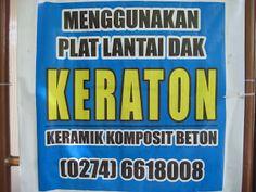 DAK KERATON JOGJAKARTA YOGYAKARTA & JAWA TENGAH: KEKUATAN dan BEBAN GEMPA DAK KERATON