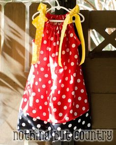 Disney Pillow Case Dress, I need to make these for our next Disney trip for my girls!!!
