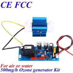 CE EMC LVD FCC sauna bath small portable ozone generator 500mg/h