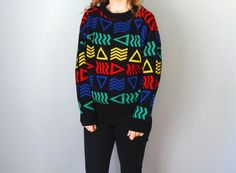 Vintage OCEAN PACIFIC Sweater / 1980s Clothing / by BluegrassBooty, $38.00