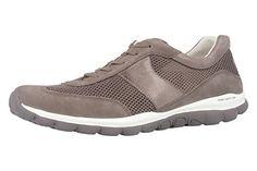 GABOR - Rolling Soft - Damen Halbschuhe - Grau Schuhe in Übergrößen, Größe:44 - http://on-line-kaufen.de/gabor/44-eu-gabor-helen-damen-sneaker