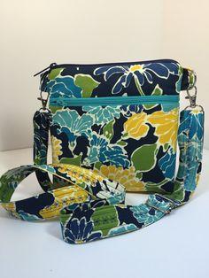 Crossbody BagFloralMid-Size Shoulder Bag Bag by TwoBossyBritches