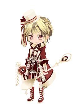 ファンタジアティードリーム|@games -アットゲームズ- Kawaii Chibi, Cute Chibi, Anime Chibi, Kawaii Anime, Chibi Characters, Anime Dress, Cocoppa Play, Anime Outfits, Boy Outfits