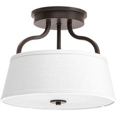 ...but nickel.  Arden 2 Light Semi-Flush Mount at Wayfair - Great Deals on all Lighting  products with Free Shipping on most stuff, even the big stuff.