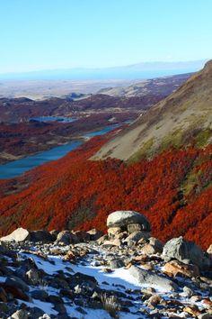 Mt. Fitz Roy as seen in Los Glaciares National Park, Patagonia, Argentina