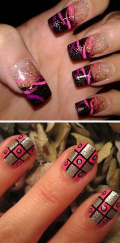 Nail Art- Love the second
