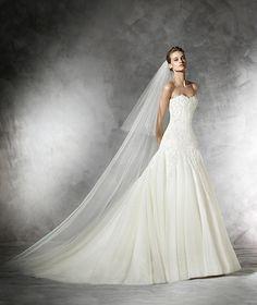Oberti, Brautkleid im Prinzessin-Stil aus Tüll