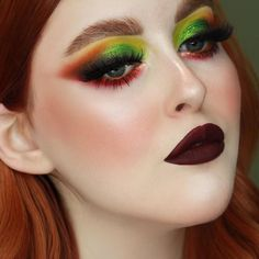 "Melt Cosmetics on Instagram: ""@paisleymattes looking spicy 🌶 💚 in this incredibly gorgeous Vida Palette look! She used 🌶 Vida Palette 🌶 Dusk Allday/Everyday Eye Liner 🌶…"""