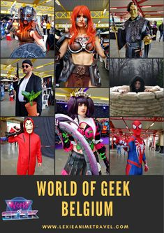 World of Geek 2018 held last May at Centr'Expo in Mouscron. A small gathering of all geeks, anime, and people who love the same horizon. Funny Vines, Summer Chic, Historical Clothing, House Party, Belgium, Travel Inspiration, Pop Culture, Travel Destinations, Travel Tips