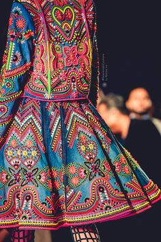 Indian by Manish Arora #SwarovskiCouture #SwarovskiCrystals Swarovski India…