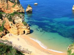Lounge on the stunning beaches of Lagos, in Portugal, one of 50 Places In Europe You Need To Visit In Your Lifetime - via Business Insider 02.07.2014