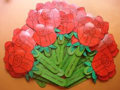 punt de llibre Rosa Teacher Cards, Teacher Quotes, St Georges Day, Islam For Kids, Red Day, Hobby Room, Saint George, Preschool Art, Special Day
