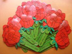 punt de llibre Rosa