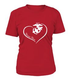 Checkout newest item Marine Mom Curve ... here: http://motherproud.com/products/marine-mom-curve-heart-round-neck?utm_campaign=social_autopilot&utm_source=pin&utm_medium=pin