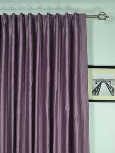 Extra Wide Swan Europe Floral Back Tab Curtains 100 - 120 Inch Curtain Panels   Cheery Curtains: Ready Made and Custom Made Curtains For Less