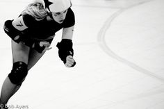Hockey Honey from San Diego Roller Derby. Can't wait for her workshop!!