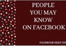 People U May Know Find Friends On Facebook, Fb Login, Education Information, Facebook Features, Friends List, Find People, May, Make It Simple