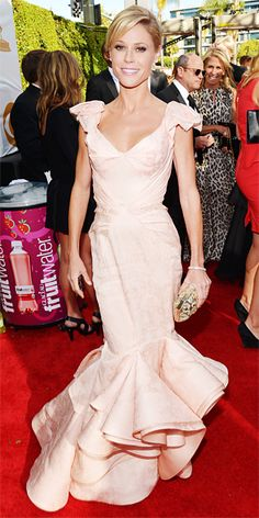 Bridal Gowns Inspired by the Red Carpet - Demure Pastels: Julie Bowen from #InStyle