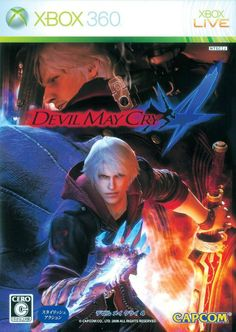Devil May Cry 4 JP Xbox 360 cover