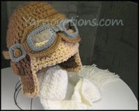 Aviator hat (if i ever breed, am so learning how to knit, just to make this. or maybe paying someone who already knows how. either way...)