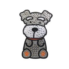 Brighten your home, car, electronics, or any other appliances with these sparkly jeweled Schnauzer rhinestone dog breed stickers. They are made of high quality materials that are sure to last and are perfect for decorating your ipod, iphone, laptop, net book, car window, or even your locker! All you have to do is peel off …