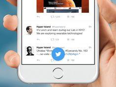 Twitter - Framer. JS by Claudio Guglieri