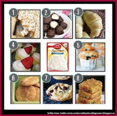 Dollar Store Crafter: 8 Ways to Transform A Boxed Cake Mix!