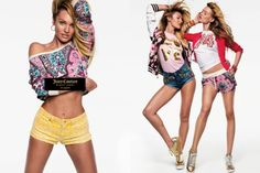 The spring-summer 2016 campaign from Juicy Couture taps top models Candice Swanepoel and Behati Prinsloo. Photographed by Inez & Vinoodh in dynamic studio shots, the Victoria's Secret Angels sport colorful looks ranging from tracksuits to cute rompers and crop tops. Styled by Carlyne Cerf de Dudzeele, Candice and Behati flaunt their stuff in Juicy Couture's …
