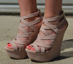 These shoes go with just about any outfit or dress <3