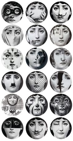 Papier peint Theme and Variation Fornasetti .- Papier peint Tema e Variazione Fornasetti … Papier peint Theme and Variation Fornasetti More - Piero Fornasetti, Fornasetti Wallpaper, Wallpaper Art, Cole And Son, Italian Painters, Foto Art, Art Plastique, Collage Sheet, Wall Collage