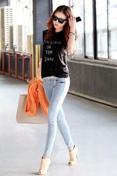 Cool Korean top dresses girls fashion cool noir et blanc - Recherche Google... Check more at http://24shopping.tk/fashion-clothes/korean-top-dresses-girls-fashion-cool-noir-et-blanc-recherche-google/