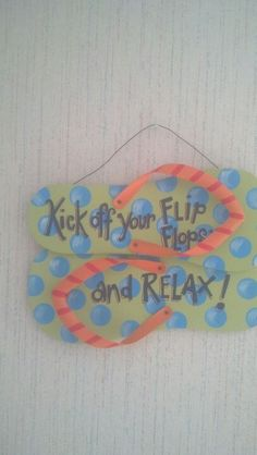Kick off your flip flops