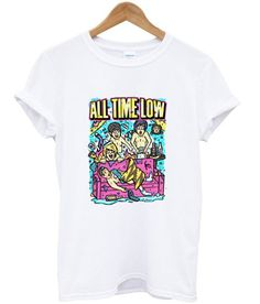 all time low t shirt