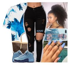 """""""//12:35am"""" by lamamig ❤ liked on Polyvore featuring Monki and MICHAEL Michael Kors"""
