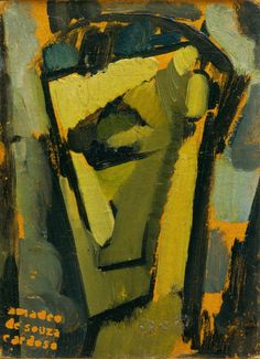 This head manifests a declared difference in relation to the others: the African mask is less at its origin than is its expressionist propensity, which mea. New Artists, Great Artists, Cubist Art, Modernisme, Georges Braque, Beautiful Paintings, Face Art, Sculpture, Painting Art