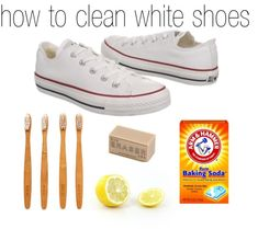 How Do You Tidy White Shoes With Baking Soda