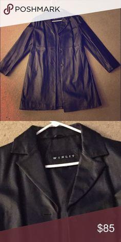Ladies Winlet leather jacket size L Ladies Winlet leather jacket size L excellent condition Jackets & Coats Trench Coats