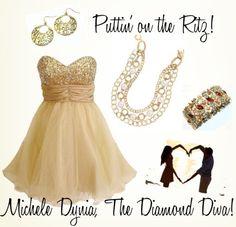 Premier Designs Jewelry - Old World earrings, Ritz necklace, Floral Affair bracelet