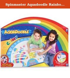Spinmaster Aquadoodle Rainbow Colors Mat. The same great Aquadoodle experience is now in rainbow color.