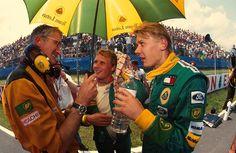 Mika Hakkinen 1992 | mika hakkinen lotus - ford 1992