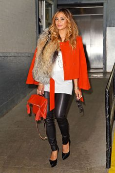 Obsessed with Nicole Scherzinger's look.