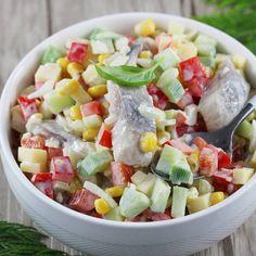 Appetizer Salads, Appetizers, Fruit Salad, Cobb Salad, Calzone, Tortellini, Diet Recipes, Detox, Seafood